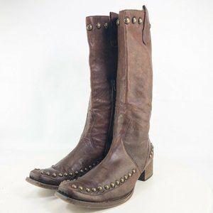 EGO Womens Block Heel Mid Calf Boots Size US 7